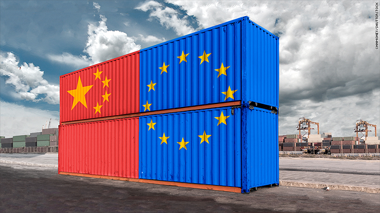 China is turning to the EU to form a united front against Donald Trump's trade policies.