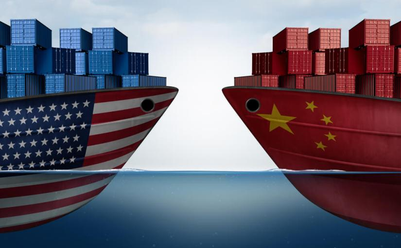 Global markets are bracing themselves as the deadline nears for the US to start imposing tariffs on $34bn of imports from China.