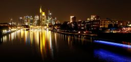 The skyline with its financial district is photographed on early evening in Frankfurt, Germany, September 18, 2018. REUTERS/Kai Pfaffenbach