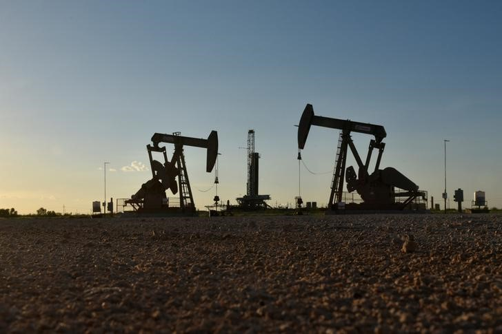 U.S. oil prices hit their highest level since November 2014 on Tuesday and Brent crude was also near a four-year peak reached the previous day.