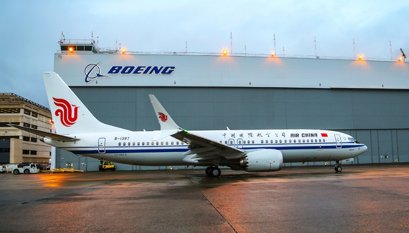Boeing opened its first 737 completion plant in China on Saturday, a strategic investment in one of the world's top travel markets