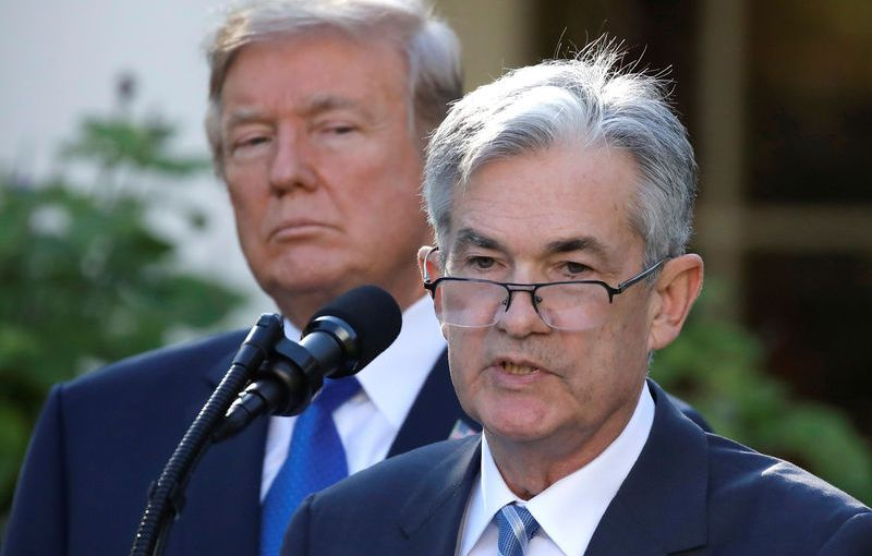 President Donald Trump said on Tuesday it would be a mistake if the Federal Reserve raises interest rates when it meets nextweek