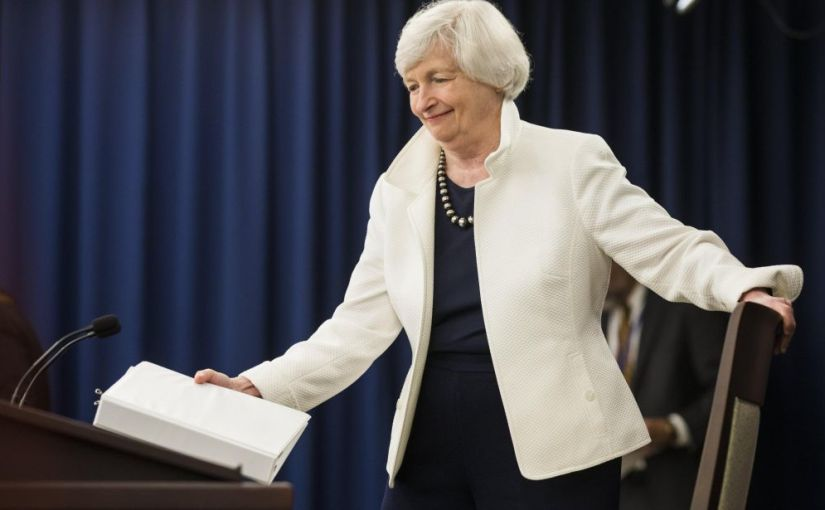 Former Federal Reserve Chair Janet Yellen told a New York audience she fears there could be another financialcrisis