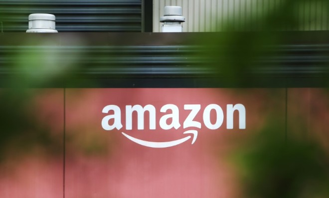 FILE PHOTO: Amazon Fulfillment Centre (YVR3) is pictured in New Westminster