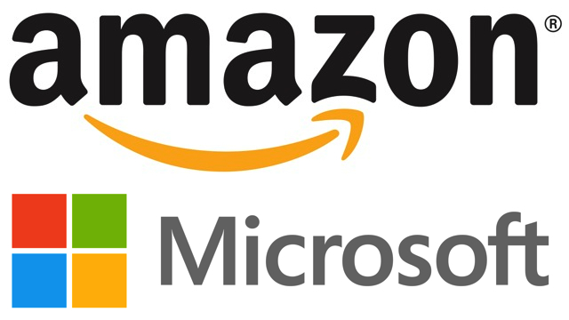 Amazon and Microsoft are currently the two largest providers of public cloud services. That business is generating nearly $50 billion a year in revenue now between the two and is expected to double by the end of2020