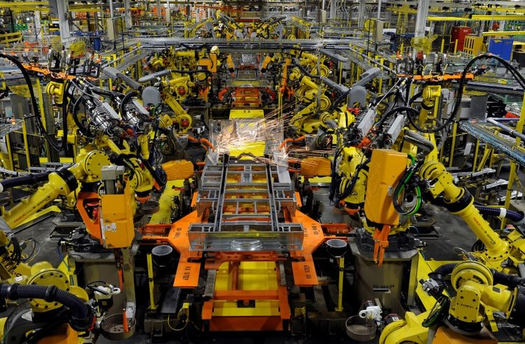 U.S. manufacturing activity slowed sharply to a two-year low in December amid a plunge in new orders and hiring atfactories