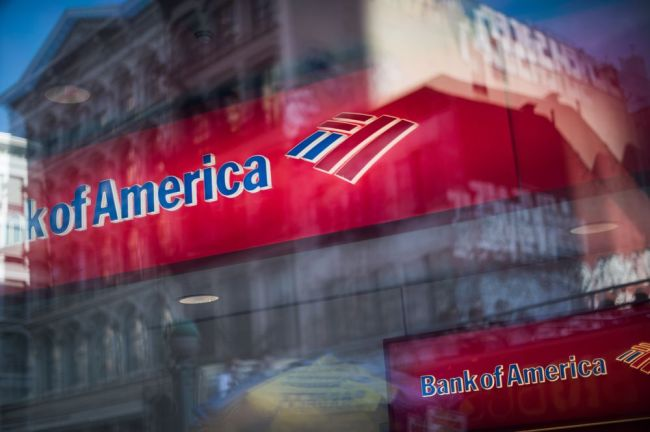 A Bank Of America Corp. Bank Branch Ahead Of Earnings Figures