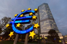 European Central Bank Headquarters And Frankfurt's Financial District Ahead Of Comprehensive Bank Assessment